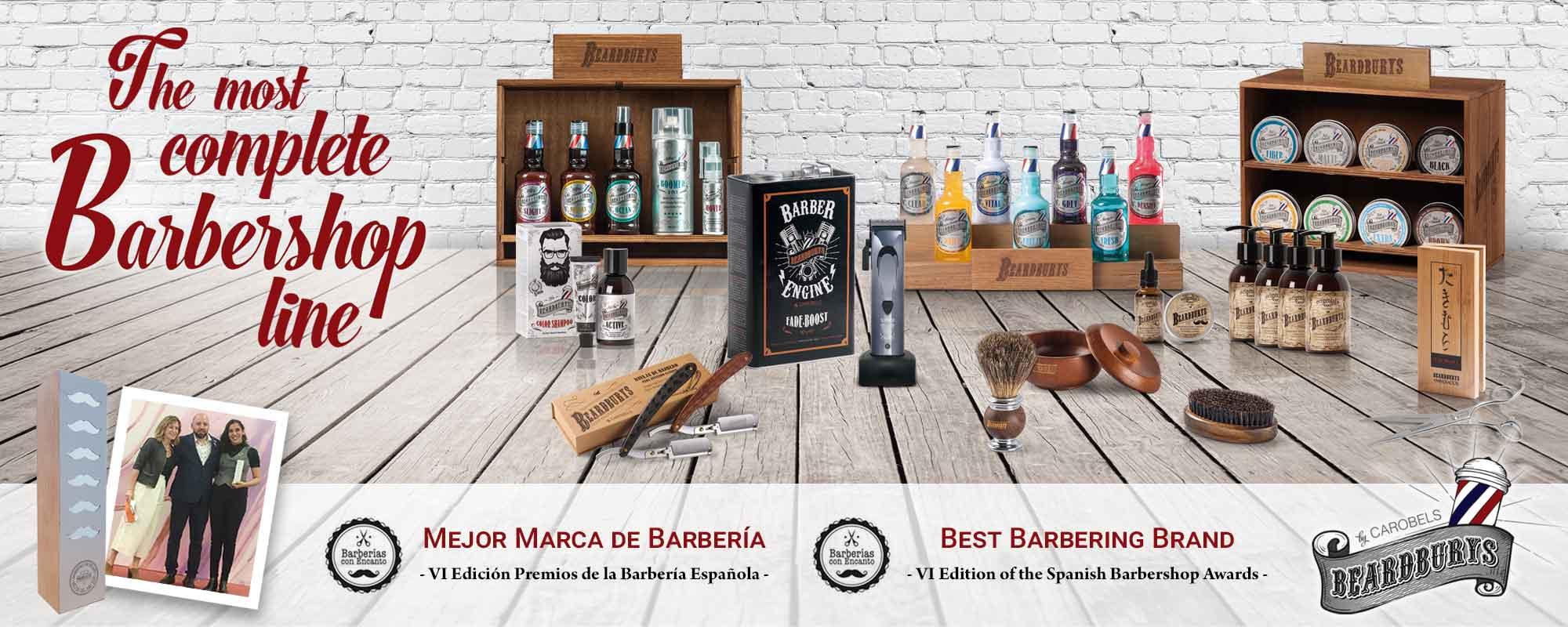 Beardburys choosen as Best Barbering Brand