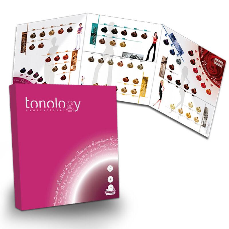Carta de color Tonology, Material Promocional, carta de color, carta ...
