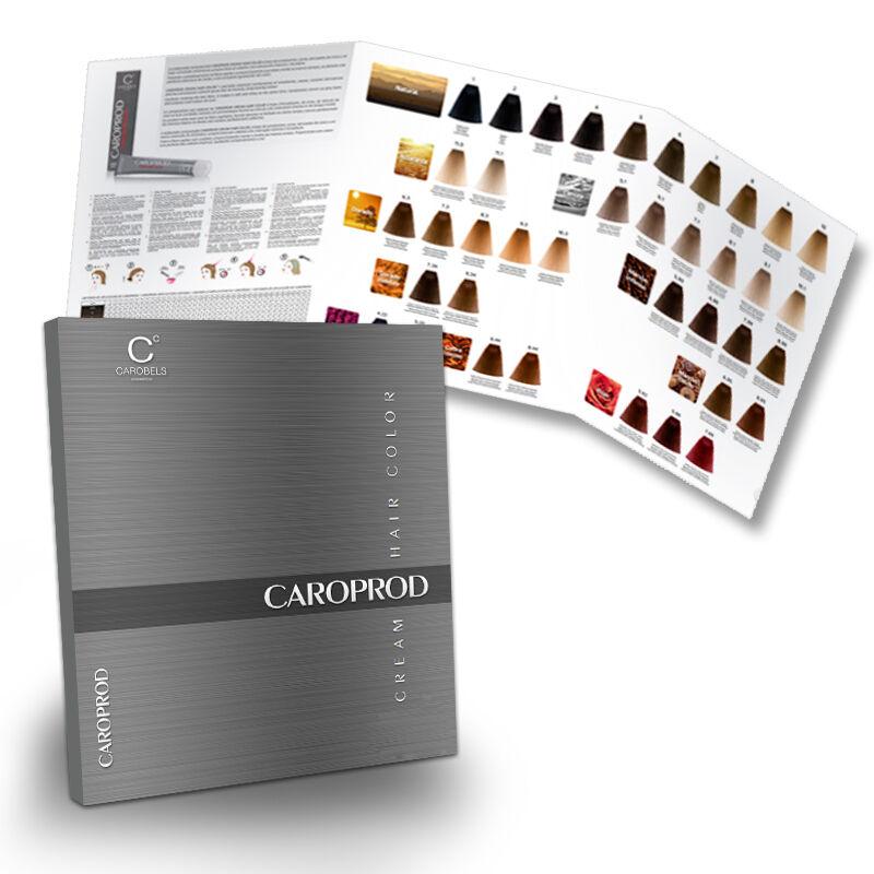 Carta de color Caroprod, Material Promocional, carta de color, carta ...