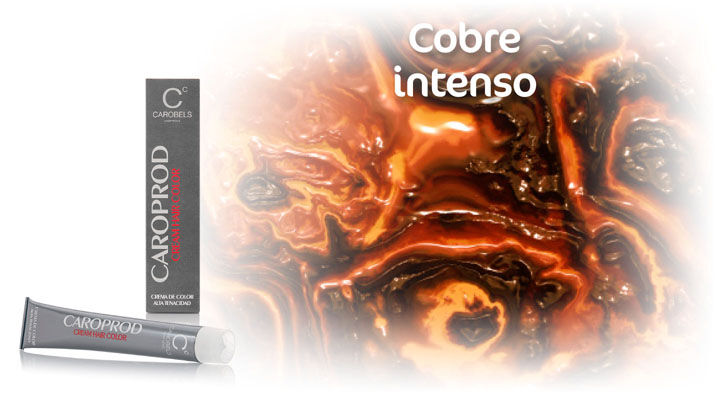 Caroprod Hair Colour. Intense Cooper