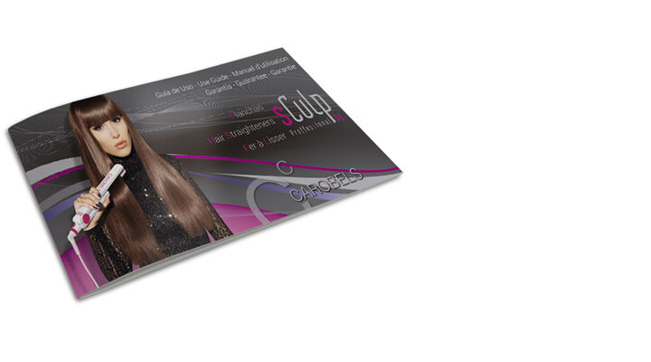 Use Guide - CX1 and CX1+ Hair Straighteners