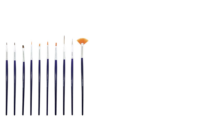 Nail Art Brushes Kit