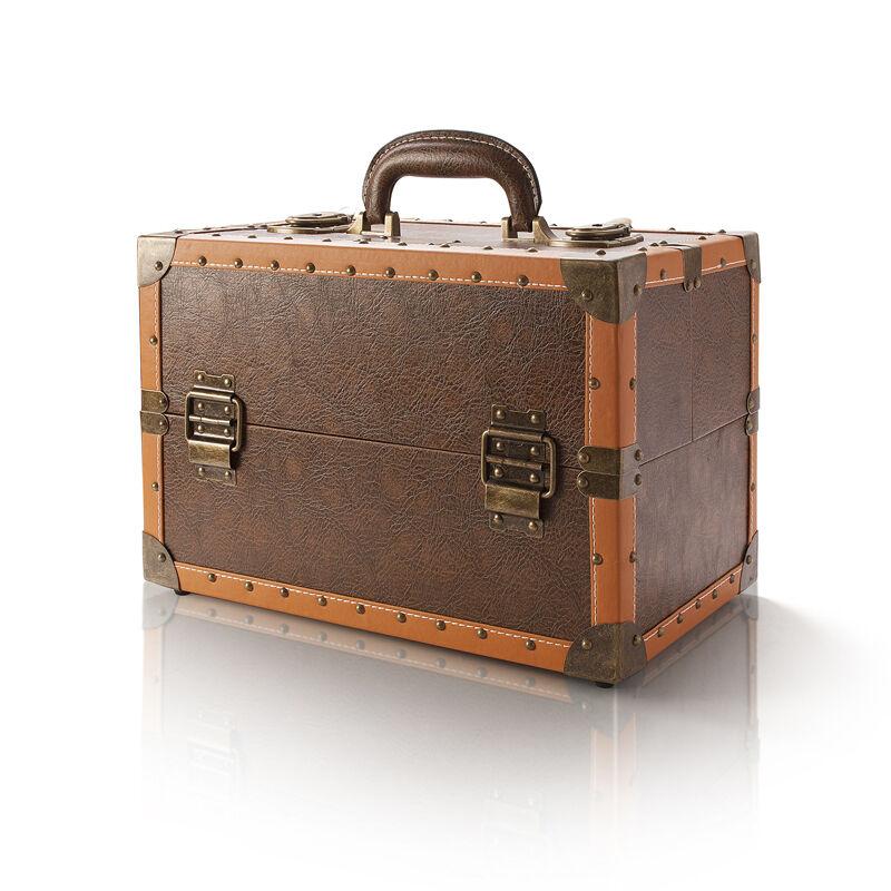 Valigetta trucco vintage evoqe make up valigetta trucco - Porta trucchi professionale ...
