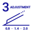 3 Adjustments of height