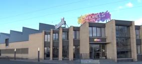 Centro logístico de Carobels Cosmetics en Avenida Antibióticos, 73 (León)