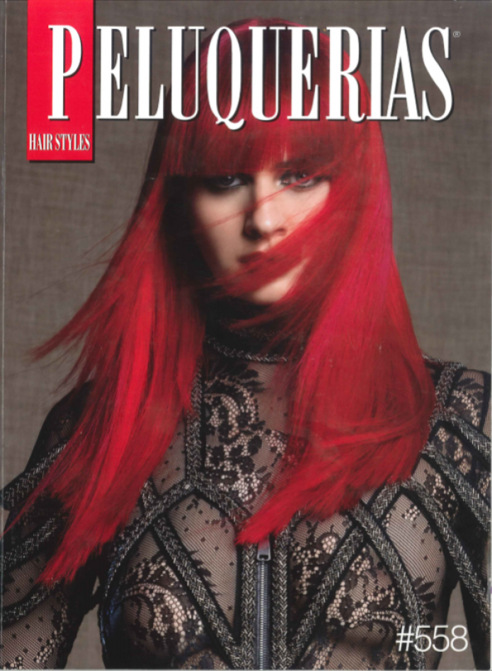 PORTADA DE LA REVISTA PELUQUERIAS HAIR STYLES Nº558