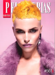 Portada Revista Peluquerías Hair Style Nº561