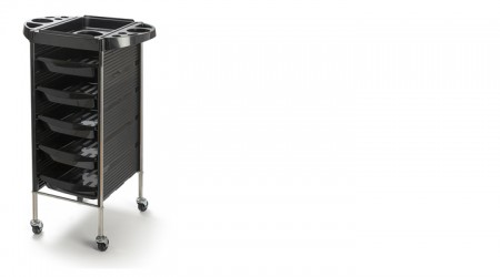Hairdressing trolley - 6 trays