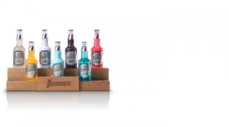 Table top display for bottles