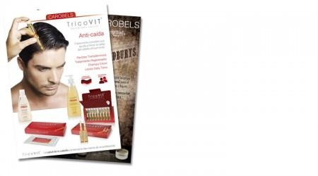 TricoVIT + Beardburys ملصقات مزدوجة