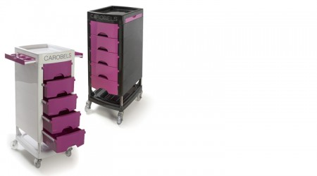 Hairdressing trolley - 5 trays