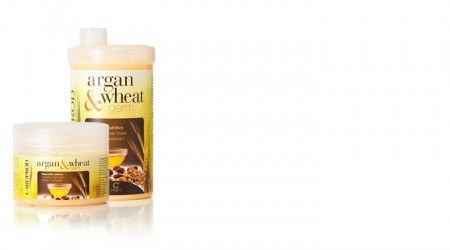 Argan & Wheat Nourishing Haar Maske