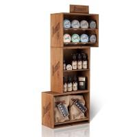 Expositor de madera Beardburys