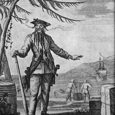 Barbas Famosas de la Historia: Barbanegra