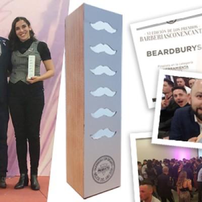 Los barberos eligen a Beardburys como Mejor Marca de Barbería