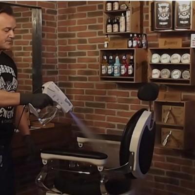 """Beardburys Streamer Gun: La  tecnología al servicio de los peluqueros y barberos ante la """"nueva realidad"""" del Covid-19."""