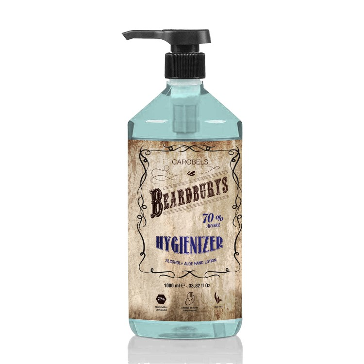 Beardburys Hygienizer 1.000ml (Gel Hidroalcoholico)