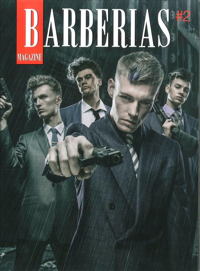Portada Revista Barberías Nº2
